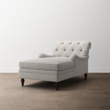 Allerton Petite Armless Chaise