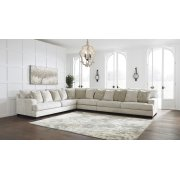 Rawcliffe - Parchment 4 Piece Sectional Product Image
