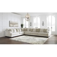 Rawcliffe - Parchment 4 Piece Sectional
