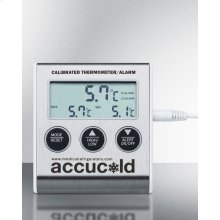 High/low Temperature Alarm With Nist Calibrated Temperature Readout