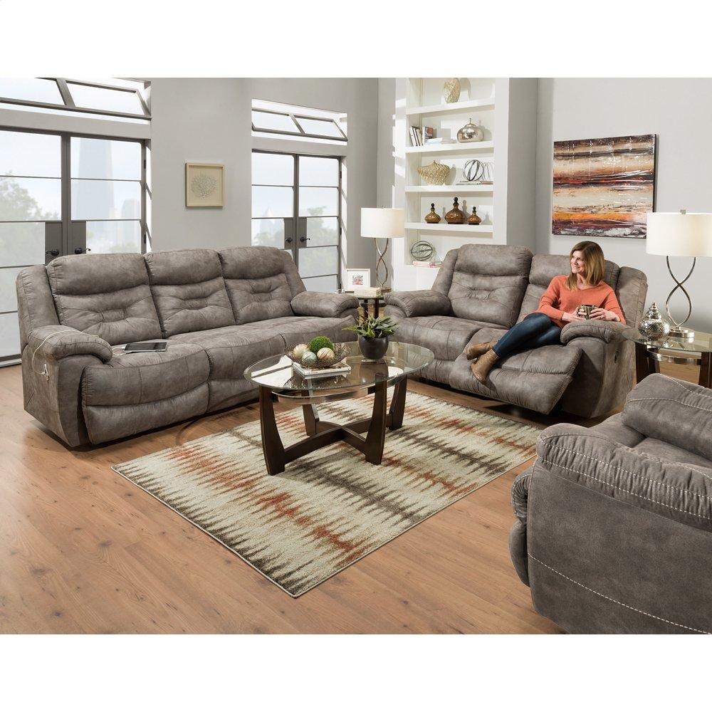 Triple Power Reclining Sofa w/Wand