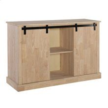 TV-64AB Jane Barn Door Entertainment Center