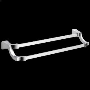 "Chrome 24"" Double Towel Bar Product Image"