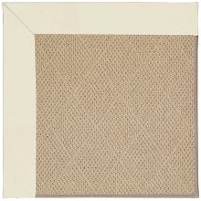 Creative Concepts-Cane Wicker Canvas Ivory Machine Tufted Rugs