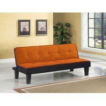 ORANGE ADJUSTABLE SOFA