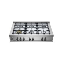 36 Rangetop 6 Burners Stainless Steel