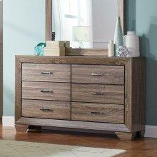 Kauffman Transitional Six-drawer Dresser
