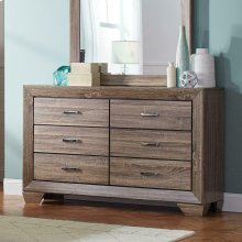 Kauffman Transitional Six-drawer Dresser