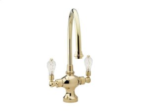 Kitchen & Bar Single Hole Bar Faucet K8108H - Polished Brass Product Image