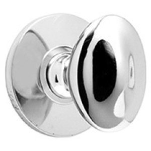 Polished Brass Bathroom thumb turn, concealed fix