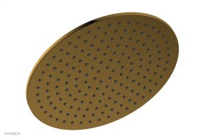 """12"""" Round Shower Head 3-338 - French Brass Product Image"""