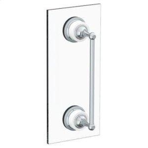 """Venetian 18"""" Shower Door Pull/ Glass Mount Towel Bar Product Image"""