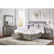 Avignon Grey Full Panel Headboard