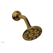10 Jet Shower Head K830 - French Brass