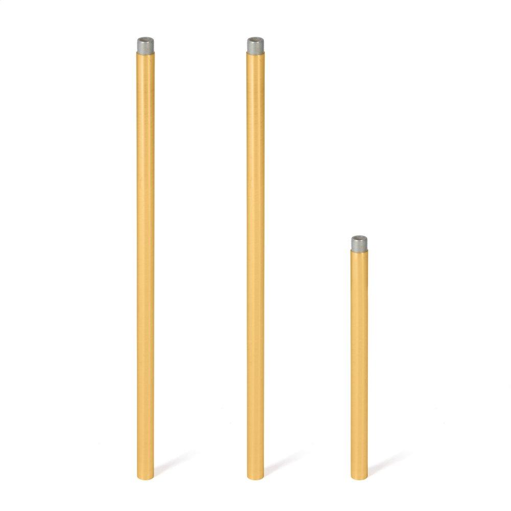 Davina Additional Pipe-brushed Brass