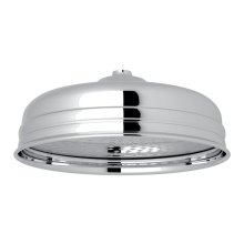 "Polished Chrome Perrin & Rowe 12"" Rain Showerhead"