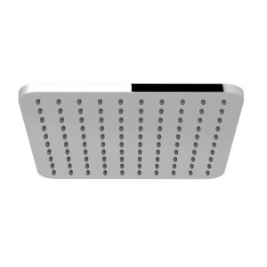 "Polished Chrome 9 1/16"" Meda Square Rain Showerhead Product Image"