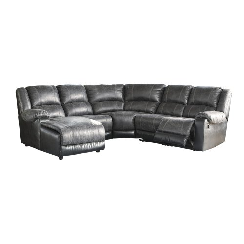Nantahala - Slate 5 Piece Sectional