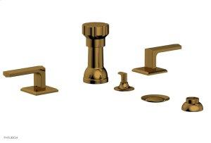 DIAMA Four Hole Bidet Set 184-61 - French Brass Product Image