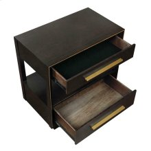 Smoked Peppercorn Nightstand