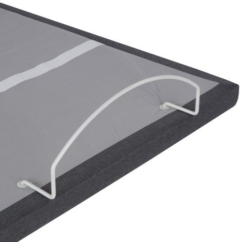 Falcon 2.0+ One-Piece Foldable Adjustable Bed Base with Under-Bed Lighting, Charcoal Gray, King