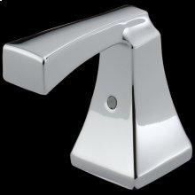 Chrome Metal Lever Handle Set - 2H Bathroom