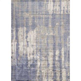 Indulge 0802 Grey/blue Drizzle 5' X 7'