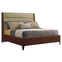 Empire Upholstered Platform Bed Queen