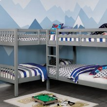 Marqutte Quadruple Twin Bunk Bed