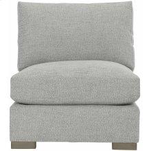 Nicolette Armless Chair in Mocha (751)