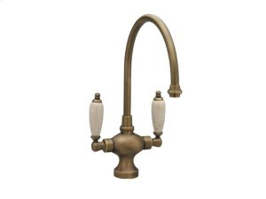 Kitchen & Bar Single Hole Bar Faucet K8158DH - Polished Brass Product Image
