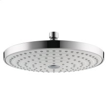 White/chrome Showerhead 240 2-Jet, 2.0 GPM