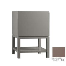 "Jenna 23"" Bathroom Vanity Base Cabinet in Blush Taupe"