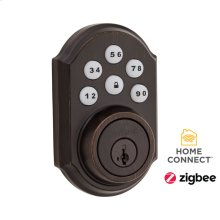 Traditional SmartCode Deadbolt with Zigbee Technology - Venetian Bronze