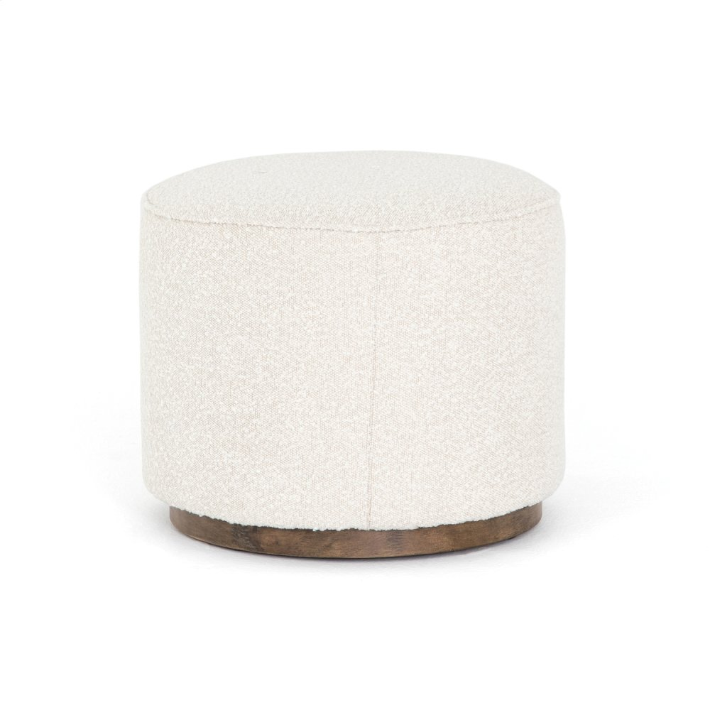 Knoll Natural Cover Sinclair Round Ottoman