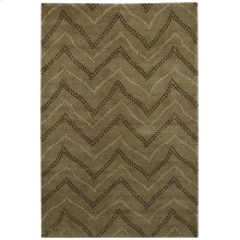 Lovely-Whimsy Cocoa Hand Knotted Rugs