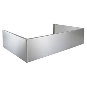 Optional Extended Depth Flue Cover for EPD61 Series Range Hoods in Stainless Steel