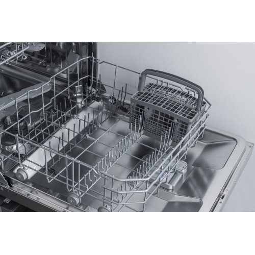 "24"" Wide Energy Star Certified ADA Compliant Built-in Dishwasher Made In Europe A With Stainless Steel Door and Front Controls"