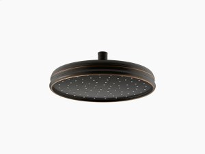 "Oil-rubbed Bronze 10"" Traditional Round 2.5 Gpm Rainhead With Katalyst Air-induction Technology Product Image"