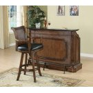 Traditional Ornate Brown Bar Unit Product Image