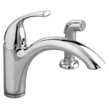 Quince 1-Handle Kitchen Faucet with Side Spray  American Standard - Polished Chrome