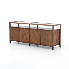 Rodney Media Console-reclaimed Fruitwood