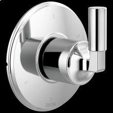 Chrome 6-Setting 3-Port Diverter Trim