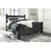 Starberry - Black 3 Piece Bed Set (King)