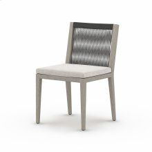 Stone Grey Cover Sherwood Outdoor Dining Chair, Weathered Grey