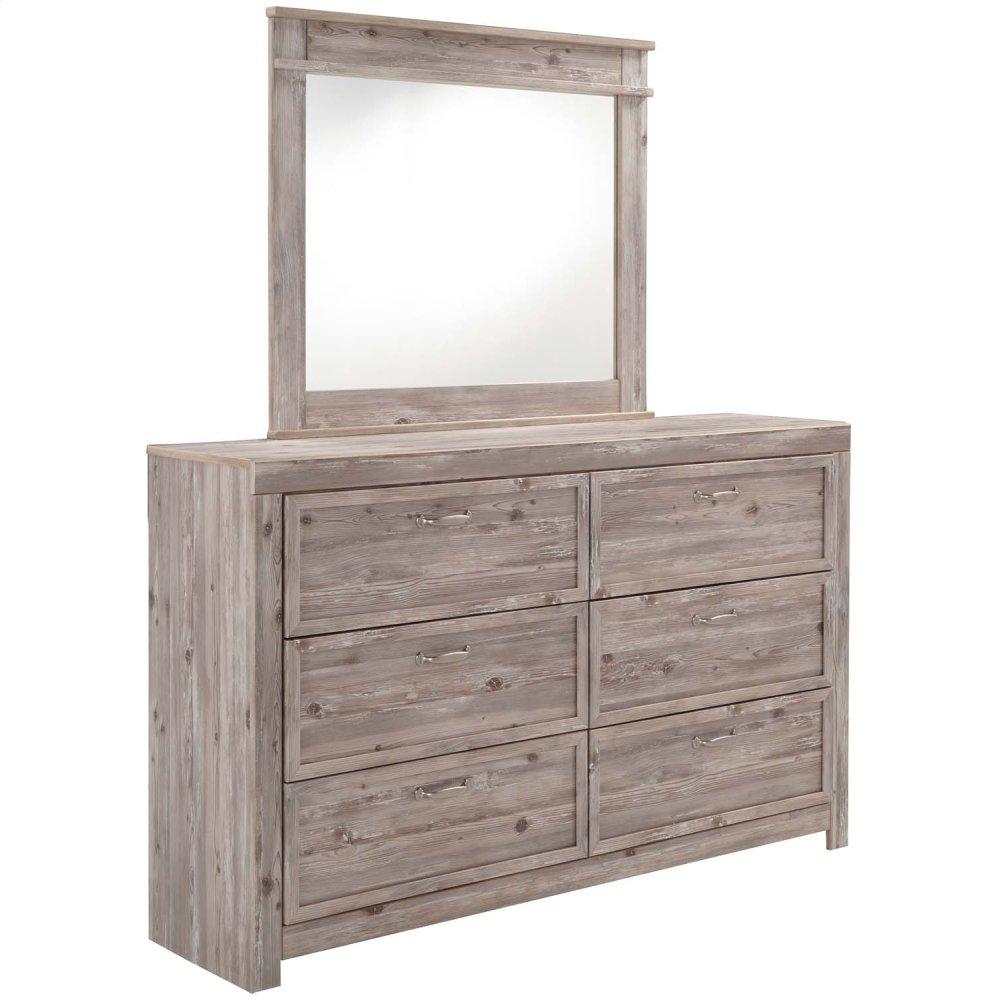 Willabry - Weathered Beige 2 Piece Bedroom Set