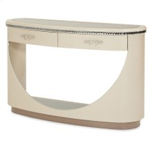 Upholstered Console Table