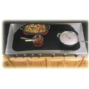 "48"" Electric Cooktop without Backsplash"
