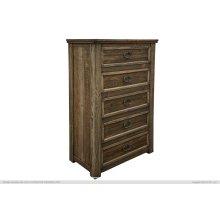 5 Drawer, Chest, Pine Wood