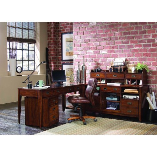 Home Office Danforth Executive Leg Desk